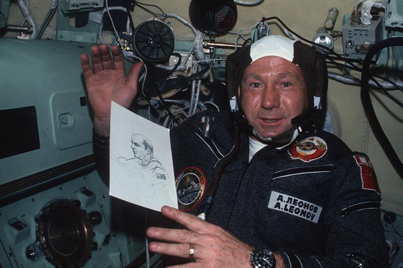 Алексей Леонов и «лунные часы» Omega Speedmaster
