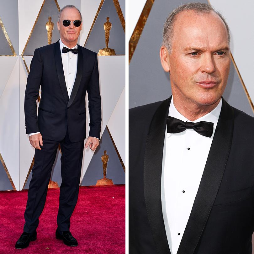 Мужские образы на церемонии награждения победителей «Оскар-2016»: Майкл Китон
