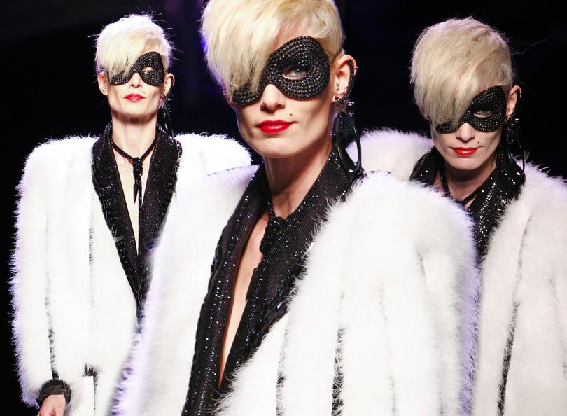 Уроки красоты с Евгенией Ленц: как повторить образы с показов парижской Недели высокой моды. Показ Jean Paul Gaultier
