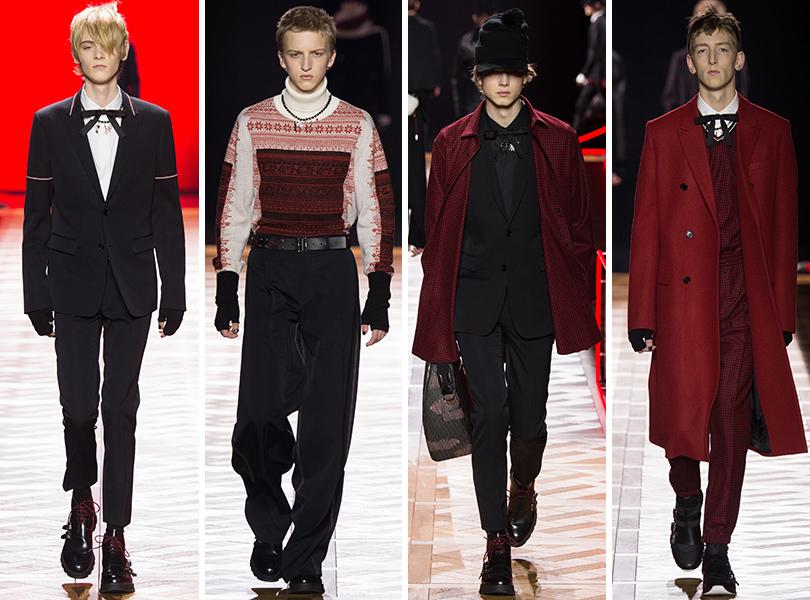Dior Homme. Men in Style: первый план. Лучшие показы с Недели мужской моды в Париже