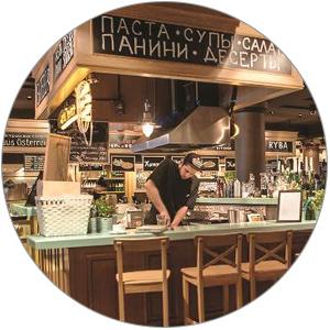 Кулинарный мастер-класс в фудмаркете The 21