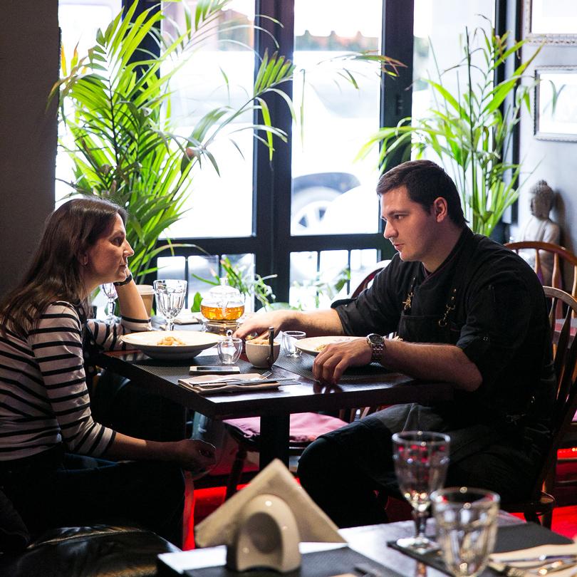 How to green и другие новинки в ресторане Roni