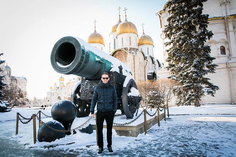 Райан Рейнольдс представил в Москве фильм «Дэдпул»