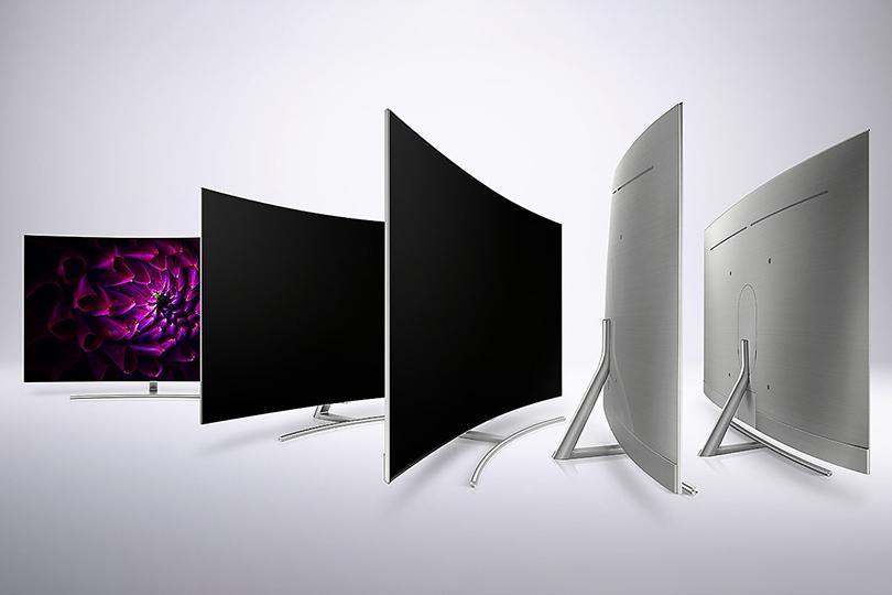 Телевизор Samsung QLED TV: Q8C иQ7C— изогнутое чудо света