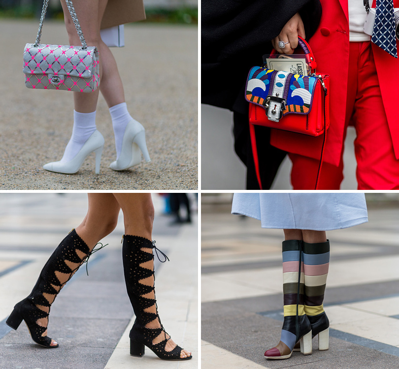 Street Style: уличная мода на Неделе Haute Couture в Париже.