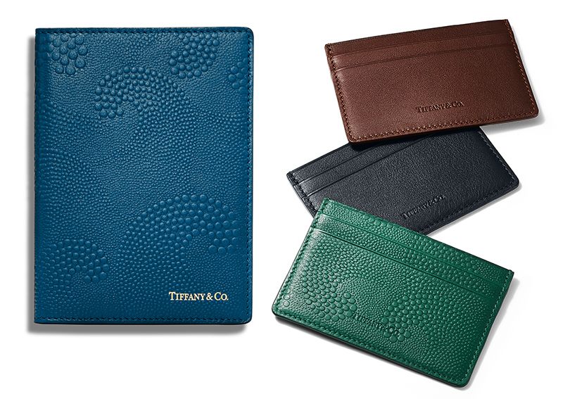 Идея подарка: вдохновленные искусством Японии кожаные аксессуары Tiffany & Co.