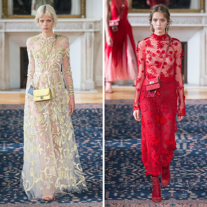 Style Notes: соло Пьерпаоло Пиччоли — весенняя коллекция Valentino