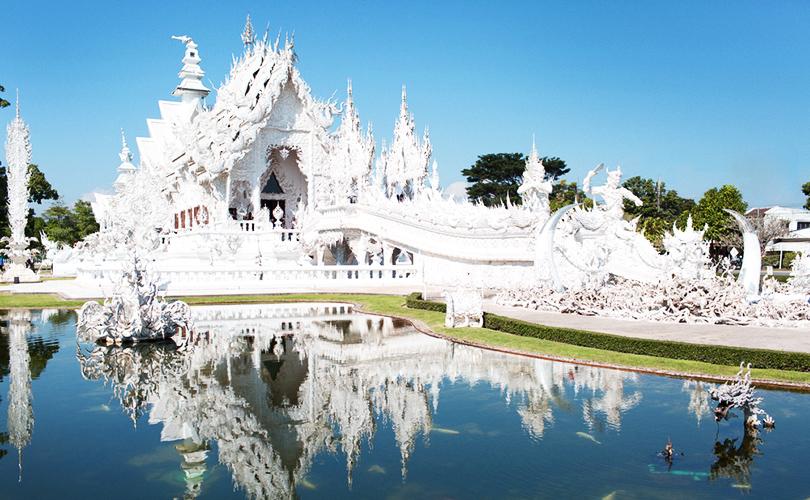 Ват-Ронг-Кун в Тайланде