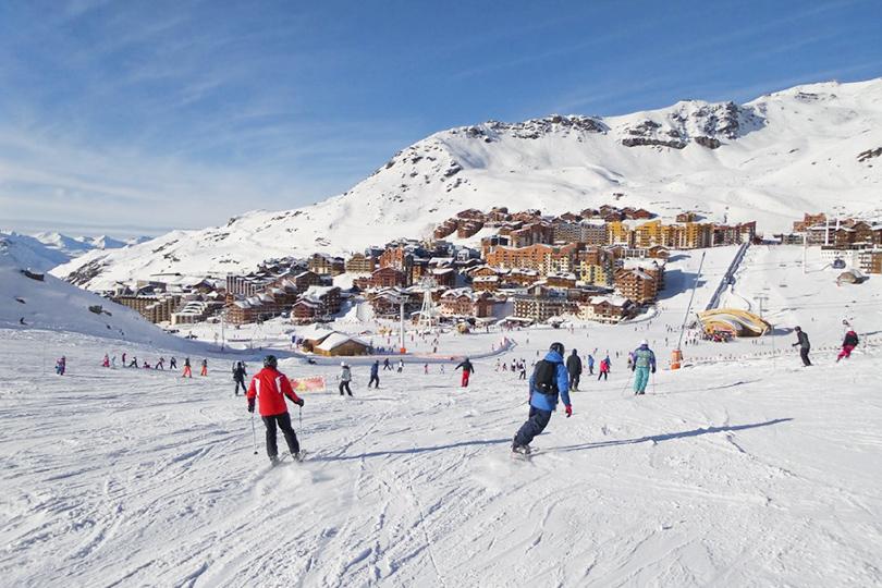 Где кататься на горных лыжах в мае: Валь-Торанс, Франция