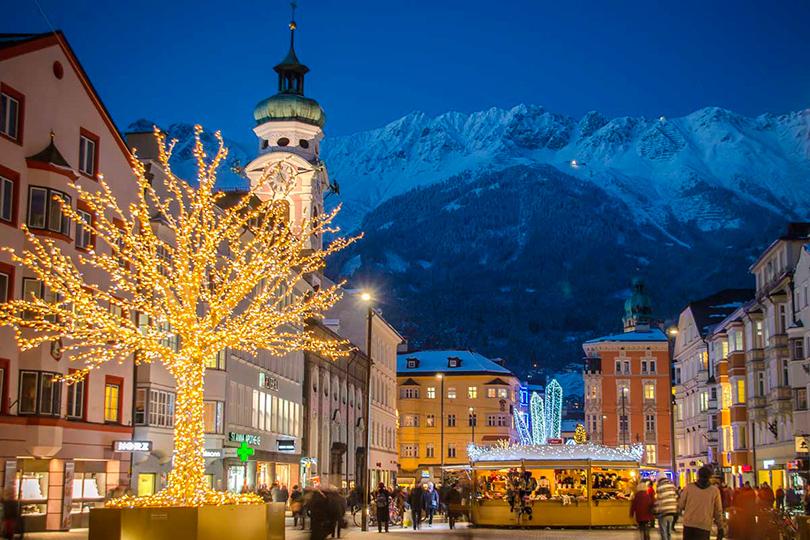 Самые лучшие рождественские базары Европы: Инсбрук