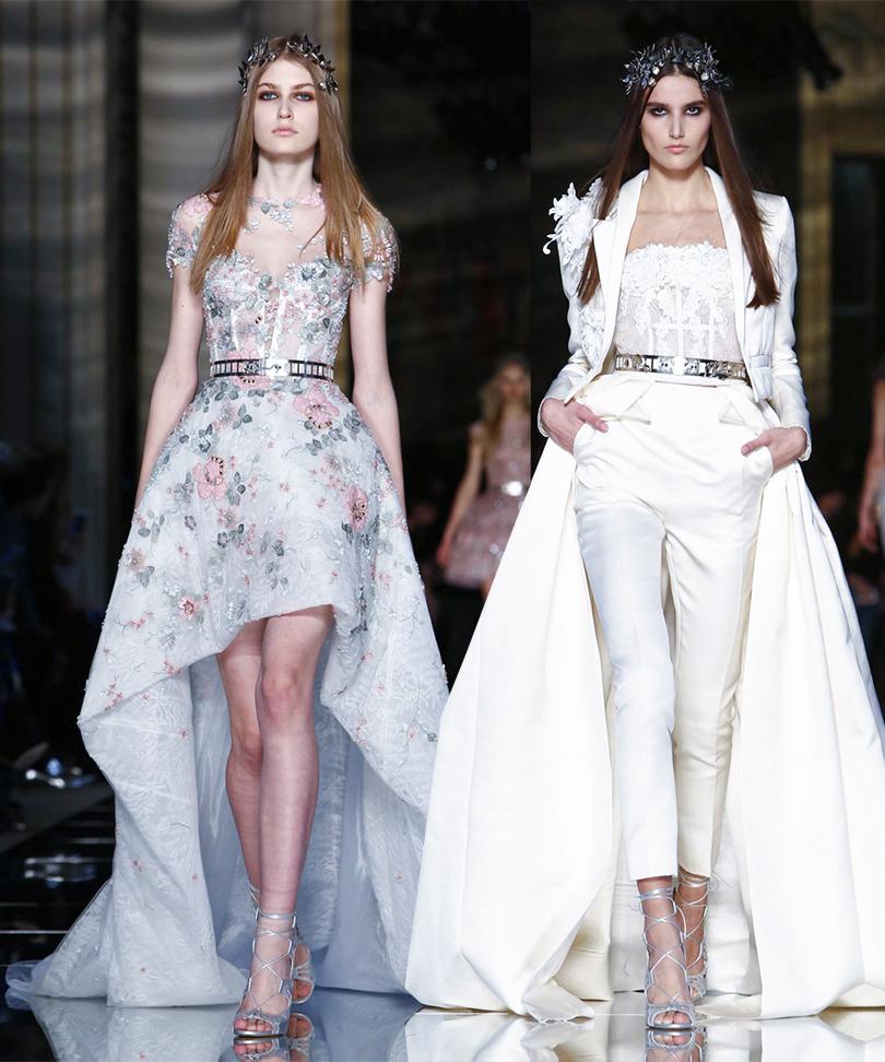Показ Zuhair Murad на Неделе высокой моды в Париже