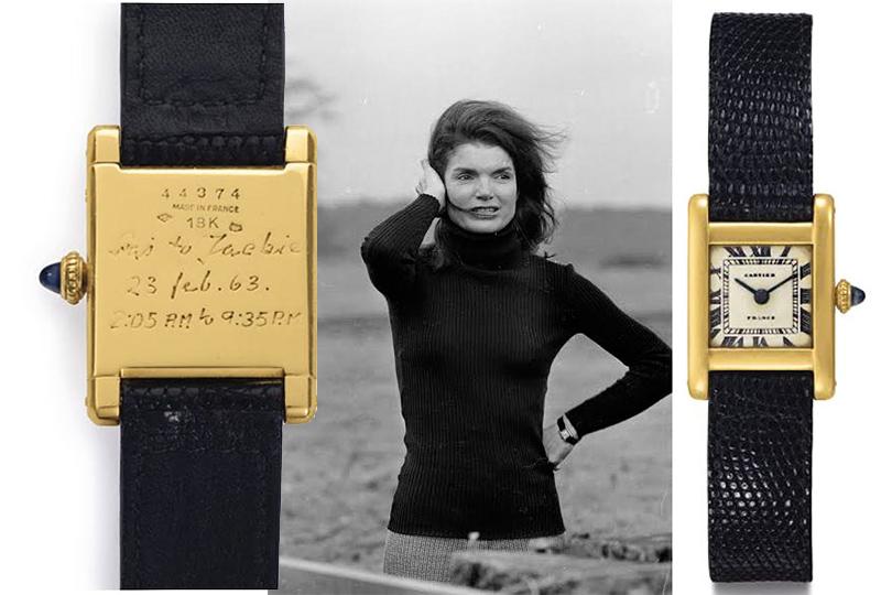 Осколки былой роскоши: любопытные лоты выставлены нааукцион. Часы Жаклин Кеннеди