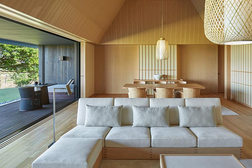 «Горячие источники» в японском отеле Amanemu
