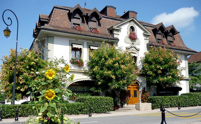 Restaurant de l'Hôtel de Ville, расположенный в деревушке Криссье, близ Лозанны. Хороший вкус с Екатериной Пугачевой: лучший шеф-повар мира Бенуа Виолье больше не с нами