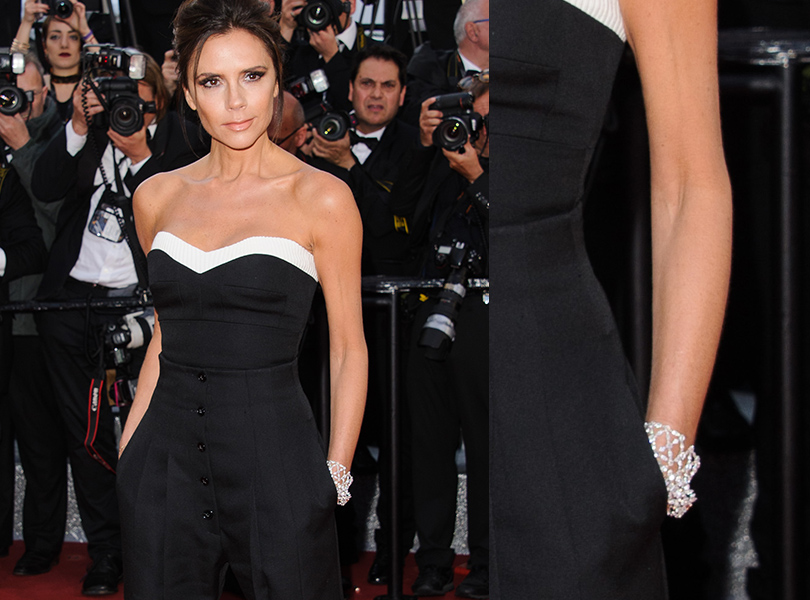 Cannes 2016: самые яркие ювелирные украшения церемонии открытия Каннского кинофестиваля. Виктория Бекхэм вChopard