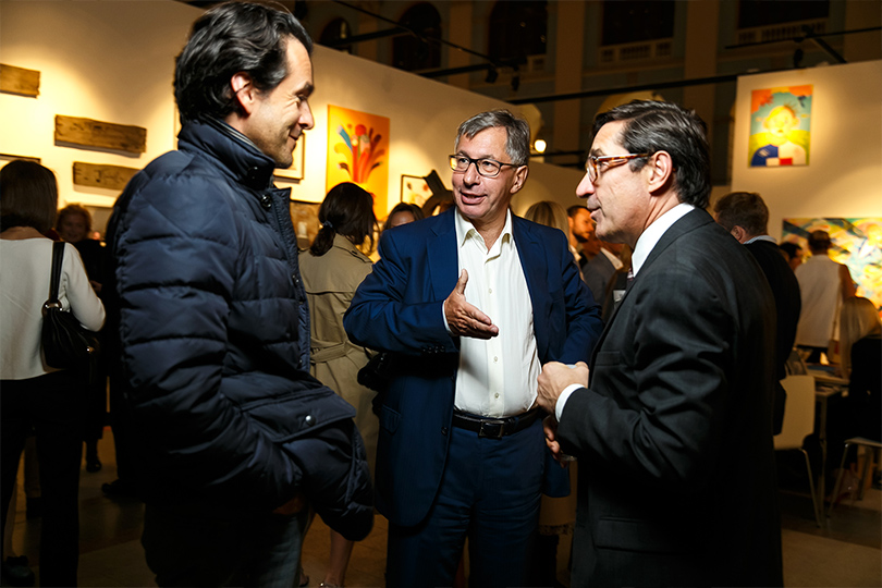 Открытие пятой Международной ярмарки современного искусства Cosmoscow