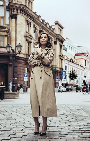 Women inPower: Татьяна Друбич— офонде «Вера», отношении квозрасту иумении никому немешать