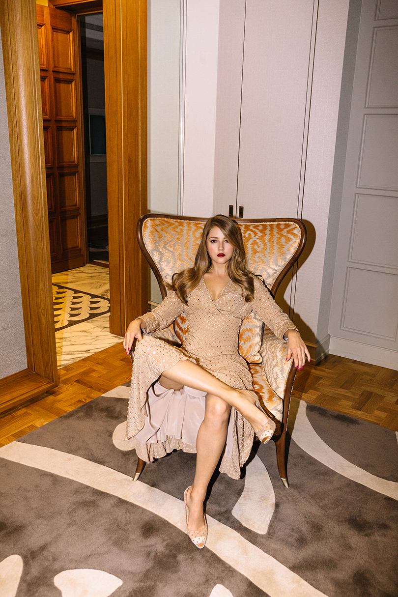 #PostaBeautyClub. Тест помады L'Oréal Matte Addiction: Анна Михайловская
