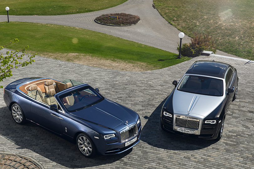Cars with Jan Coomans. Two Rolls-Royces, a Golf Club, and me
