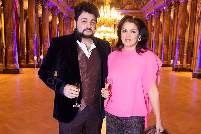 Гала-ужин Yanina Couture в Париже. Юсиф Эйвазов и Анна Нетребко