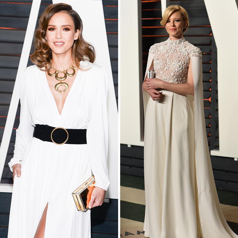 Самые важные светские вечеринки «Оскара» — афтепати Vanity Fair: Джессика Альба.  Элизабет Бэнкс