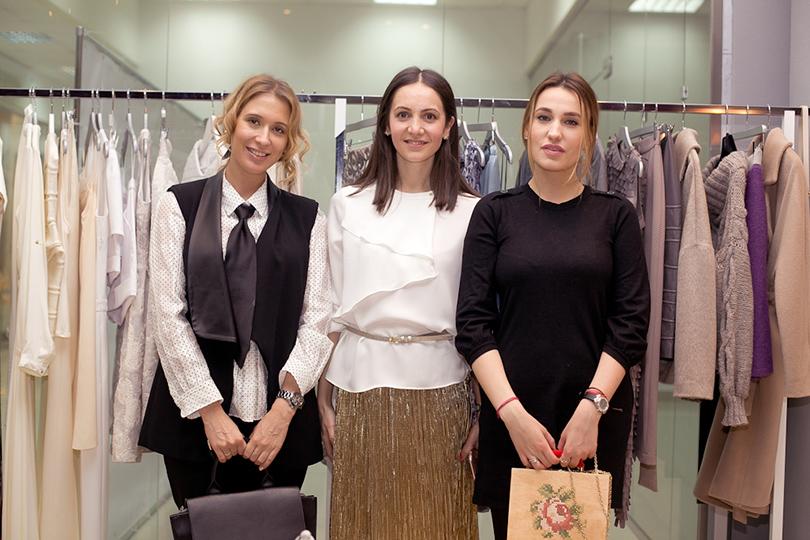 Марьяна Платонова, Алина Гасумянова и Наталья Степанян