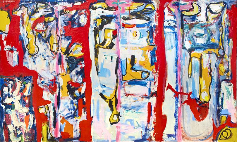 """«Студия """"Новая реальность"""" (1958-1991). Трансформация сознания». Владислав Зубарев. «Человечество», 1989-91 гг."""