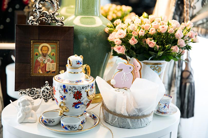 Светская хроника: праздничное чаепитие в шоуруме Axenoff Jewellery