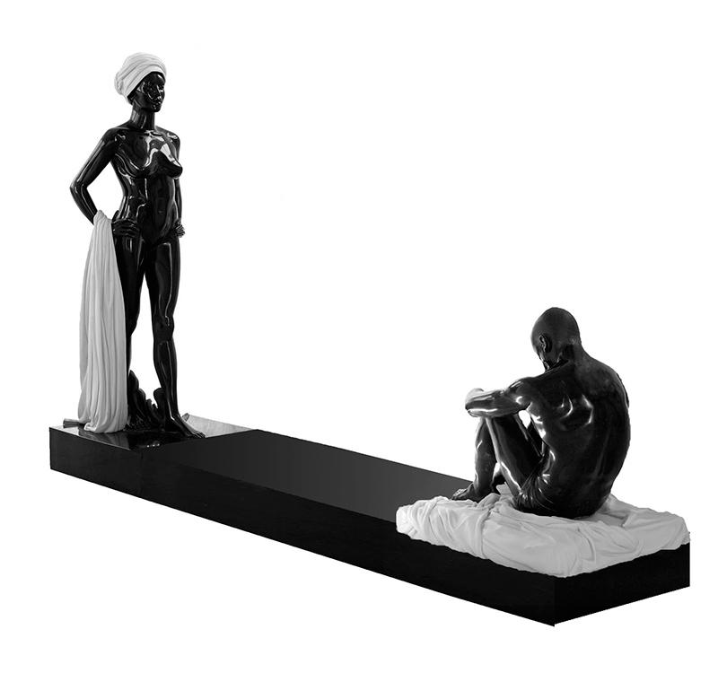 Выставка Айдан Салаховой в Saatchi Gallery в Лондоне