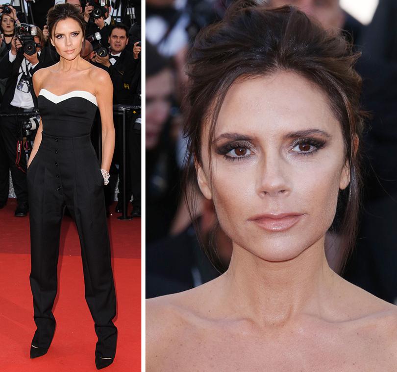Cannes 2016: самые яркие звездные образы на церемонии открытия кинофестиваля. Виктория Бекхэм вVictoria Beckham иукрашениях Chopard