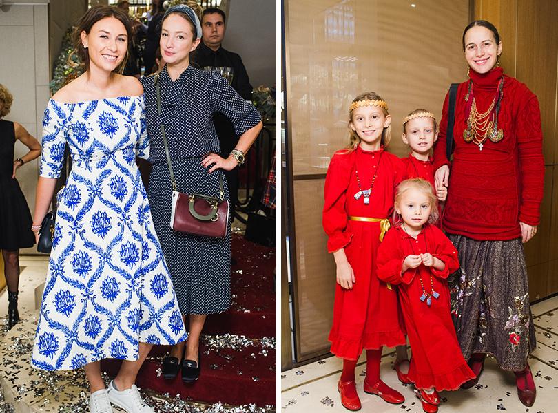 Дарья Веледеева и Алена Пенева, Ольга Томпсон с дочерьми
