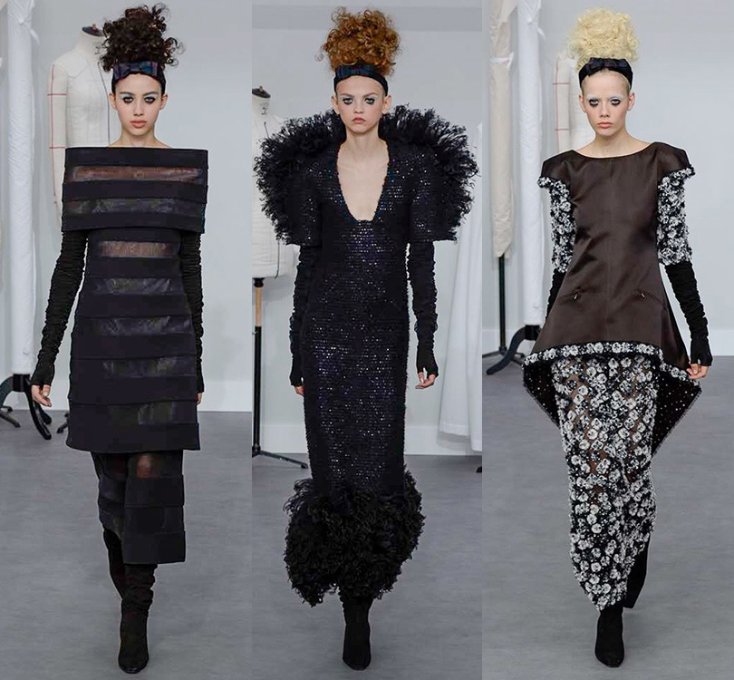 Style Notes: показ Chanel в рамках Paris Haute Couture Week