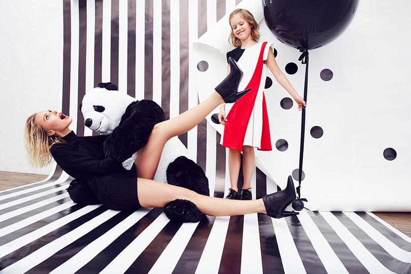 Style Notes: Aizel.ru представил новый детский отдел. Илона Столье с дочерью