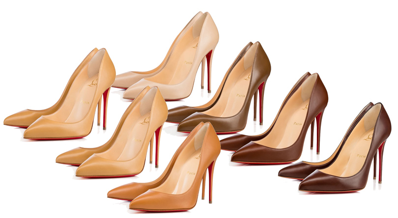 Shoes & Bags Blog: все оттенки nude в коллекции Christian Louboutin