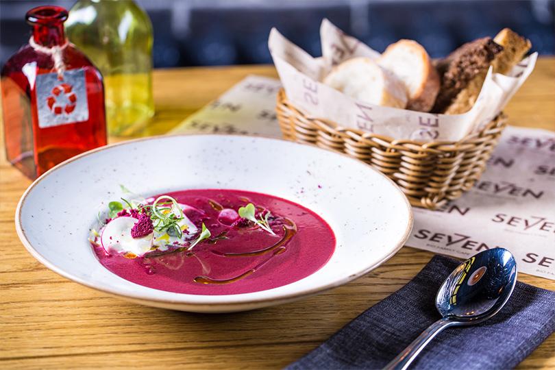 Всвоей тарелке: холодные супы вресторанах Москвы. Seven
