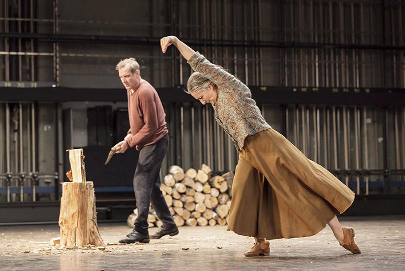 Балет: гид пофестивалю современной хореографии «Context. Диана Вишнёва». Ана Лагуна иИван Ауцели вспектакле Матса Эка «Топор»