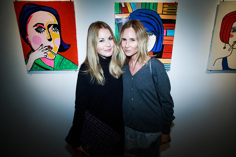 Светская хроника: открытие Cosmoscow. Современное искусство — это модно. Алиса и Юлия Рубан