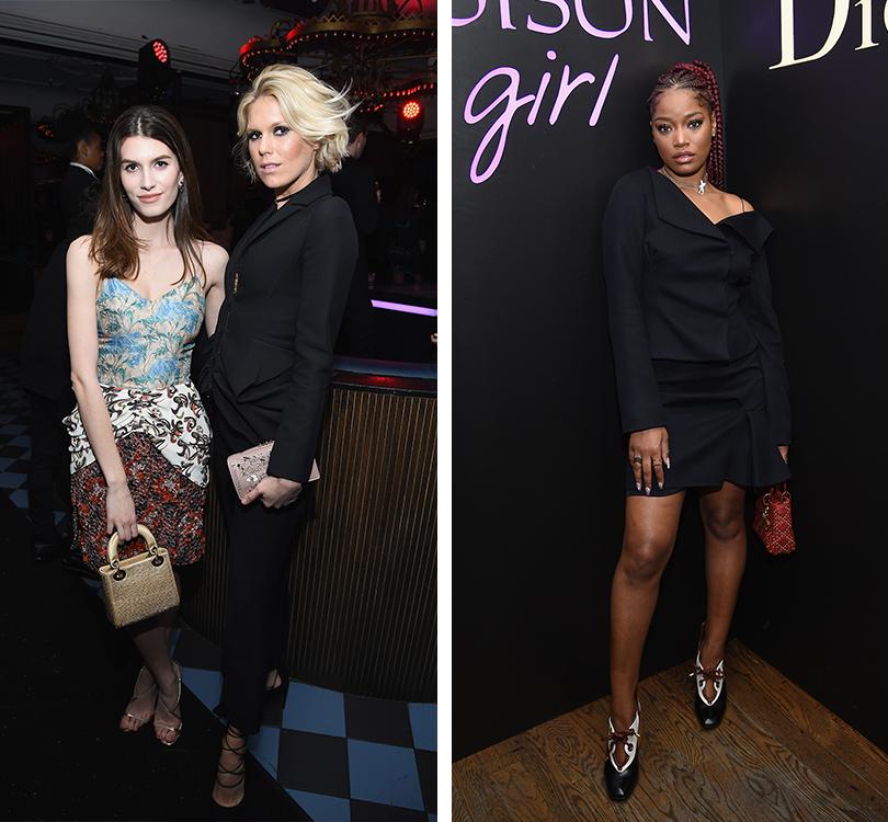 Total Beauty: Белла Хадид иКамиль Роу навечеринке Dior Poison Сlub вНью-Йорке. Роуз Гилрой и Александра Ричардс. Кеке Палмер
