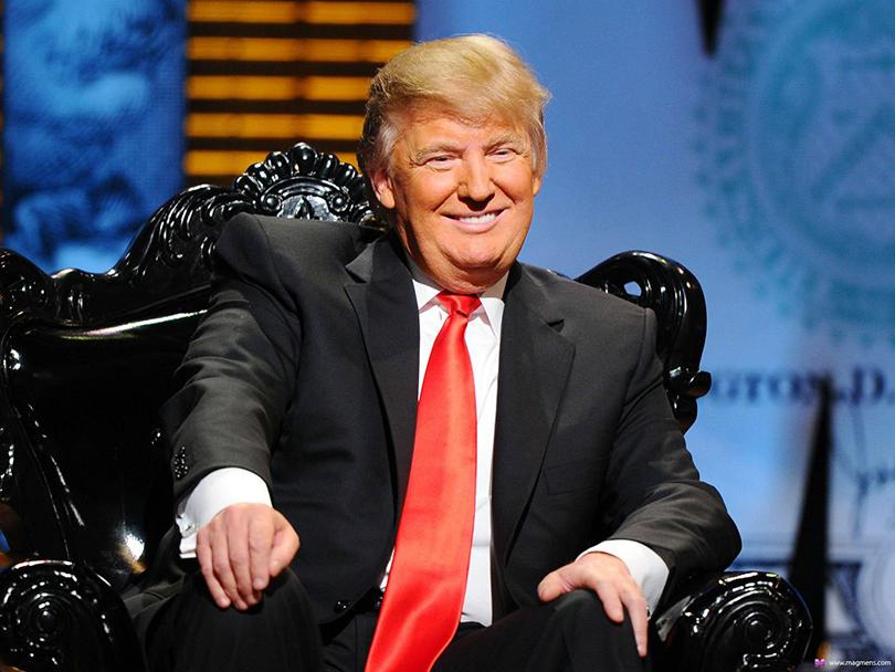 Дональд Трамп красноречив и эксцентричен