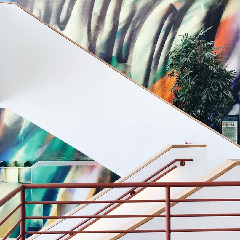 Дизайн & Декор: офисы Facebook — под контролем художников. Катарина Гроссе
