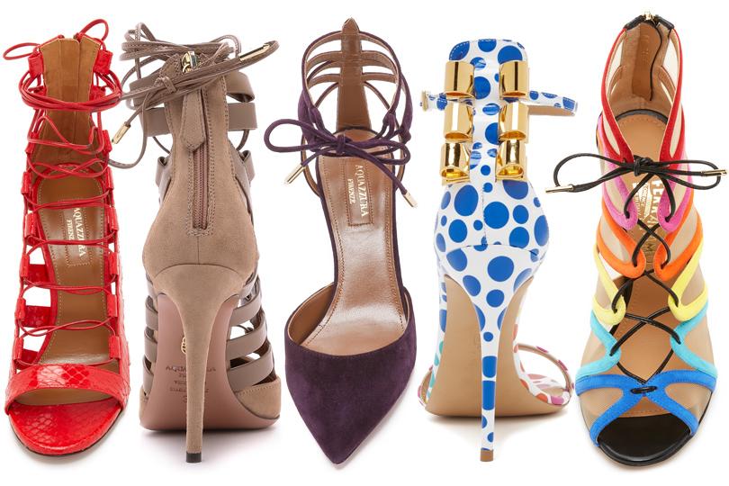 Shoes & Bags Blog: почему fashionistas выбирают Aquazzura? Причина №2: узнаваемый дизайн