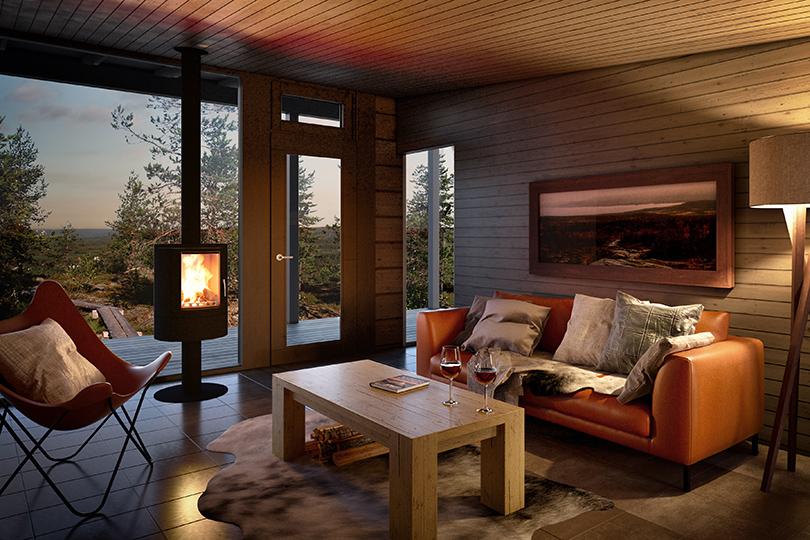 Отель Arctic TreeHouse Hotel вРованиеми
