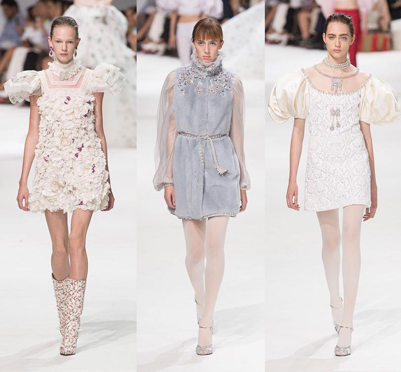 Style Notes: бренд Giambattista Valli представил новую коллекцию в Париже