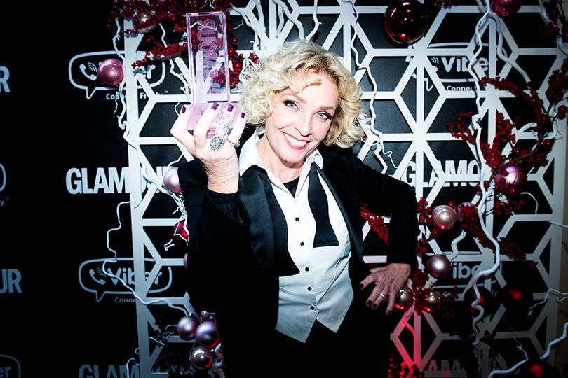 Светская хроника: победители игости премии «Женщина года— 2016» Glamour. Лайма Вайкуле