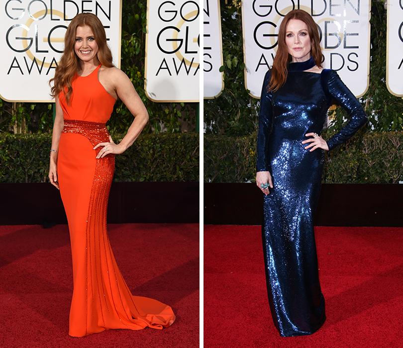 Эми Адамс в Atelier Versace,  Джулианна Мур в Tom Ford