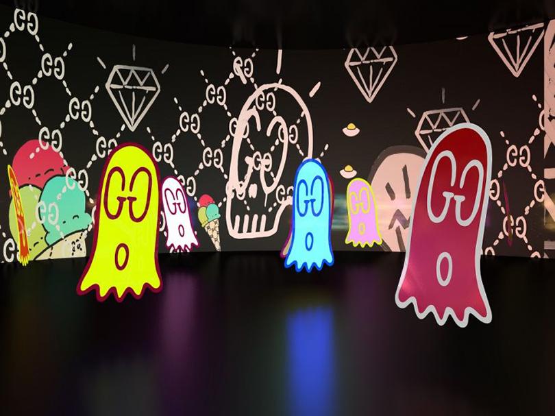 Art & More: внутри цифровой инсталляции Gucci 4 Rooms в Токио