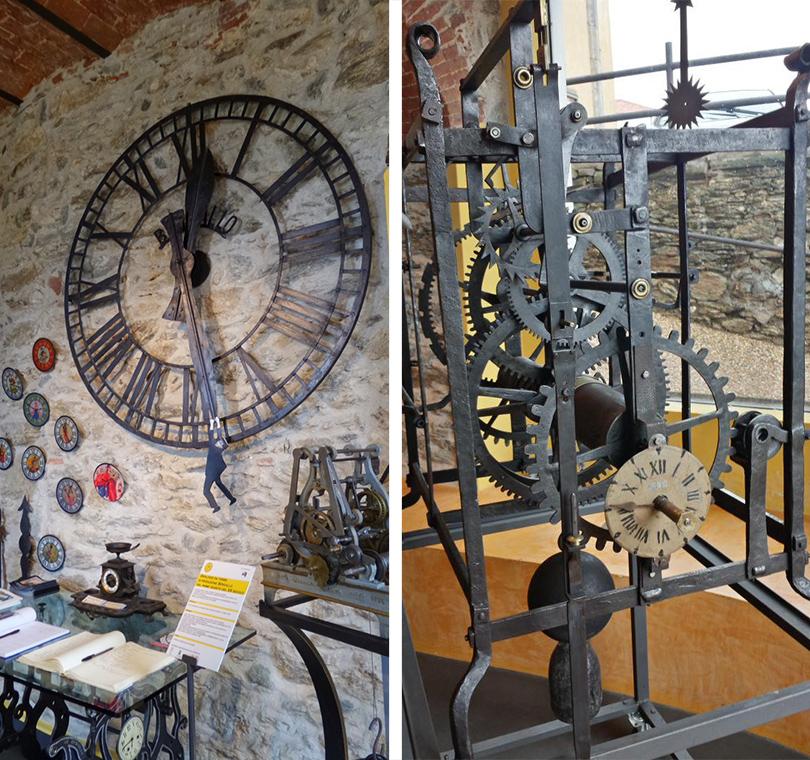 Музей башенных часов Бергалло, Тово-Сан-Джакомо, Италия