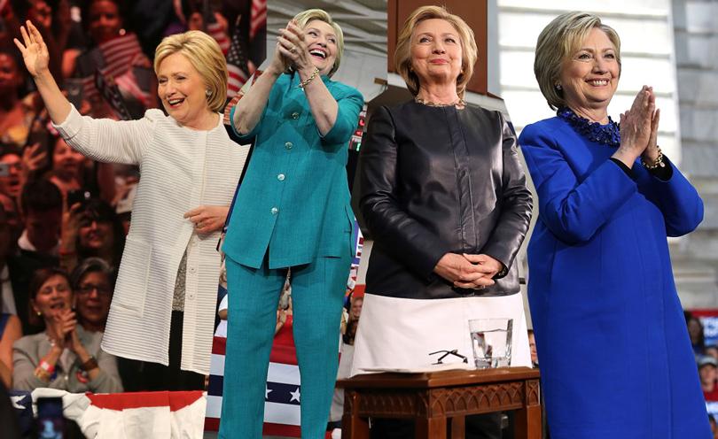 Хиллари Клинтон сама полностью оплачивает свой гардероб. Она предпочитает сочетать одежду отмолодых американских дизайнеров сболее эксклюзивными элементами