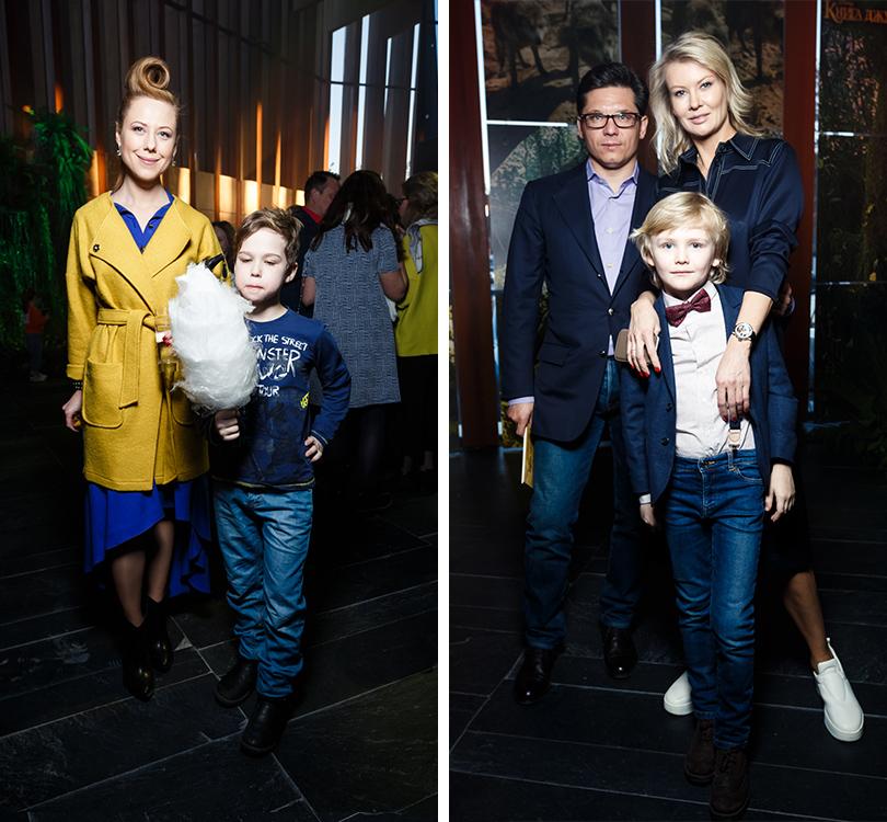 Анна Осипова с сыном. Антон и Виктория Борисевич с сыном