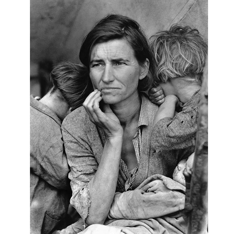 Доротея Ланж: «Мать-переселенка»